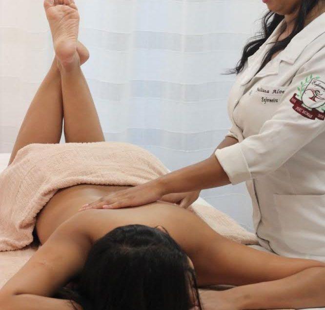 Julho = desconto em massagem