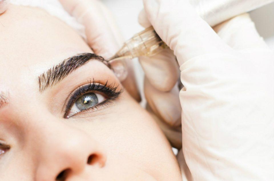 Sobrancelhas perfeitas: Micropigmentação & Microblanding